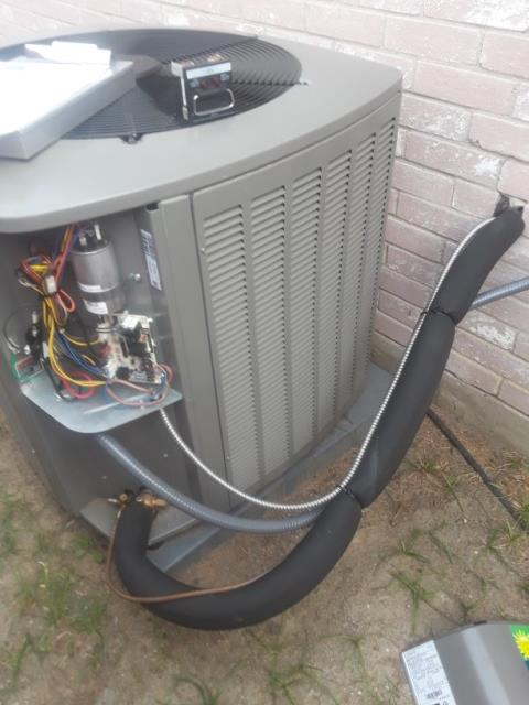 Keller, TX - Heat tune up Lennox system.