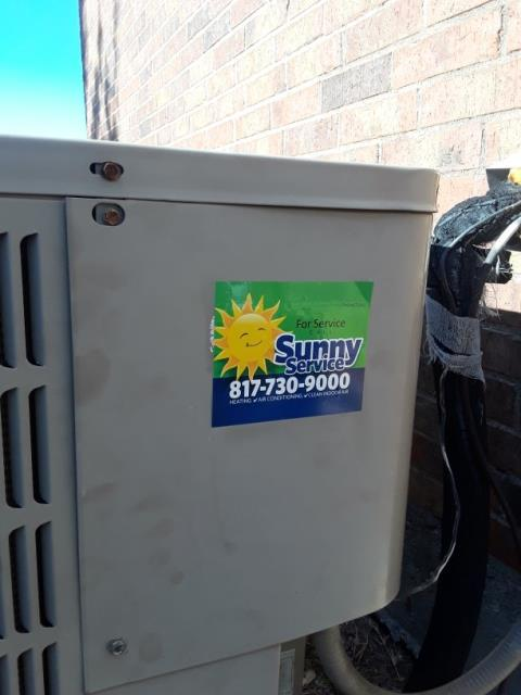 Haslet, TX - Heat Tune Up on a Goodman system.