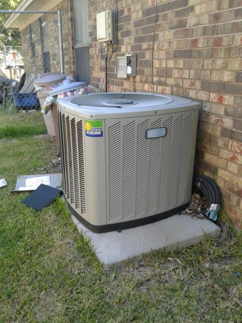 Keller, TX - Air conditioning service call