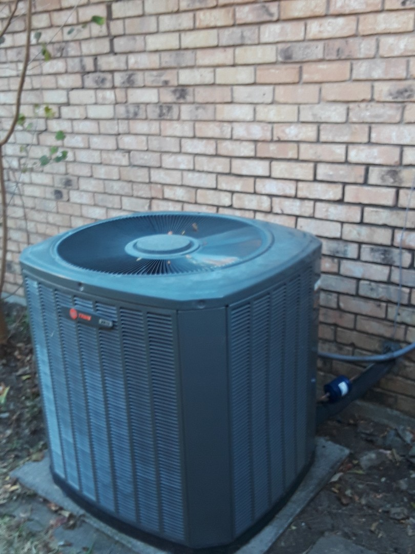 Arlington, TX - Replace compressor Trane heat pump