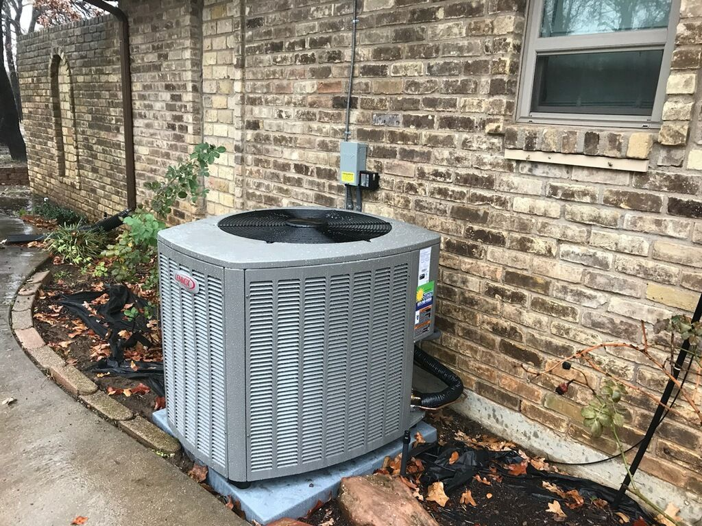 Keller, TX - Install new Lennox heat pump unit