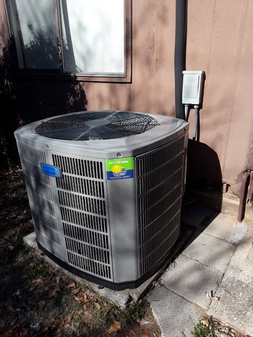 Euless, TX - Heater repair American Standard heat pump