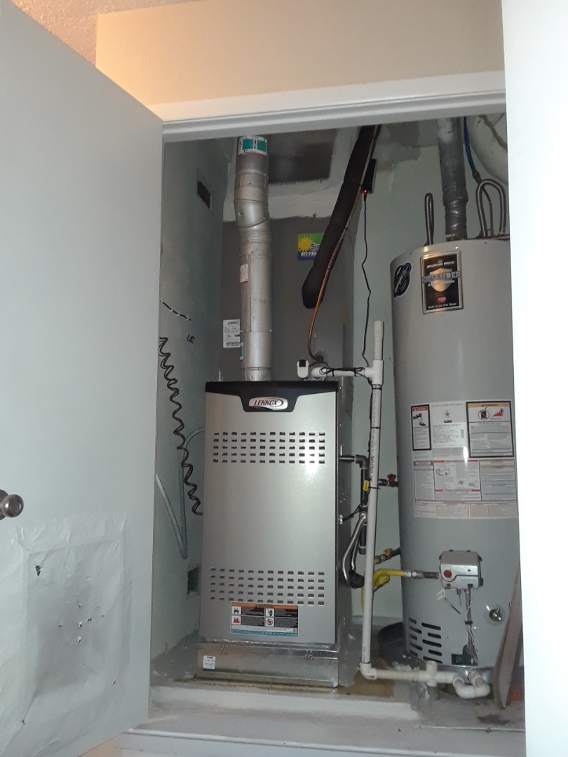 Hurst, TX - Install duct and heater