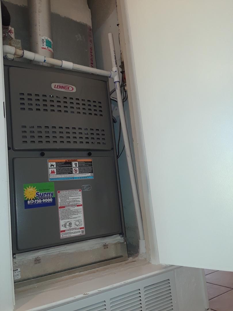 Hurst, TX - Install heater