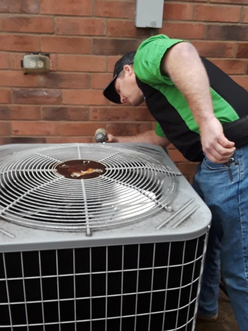 Bedford, TX - Heat pump not heating heat pump repair