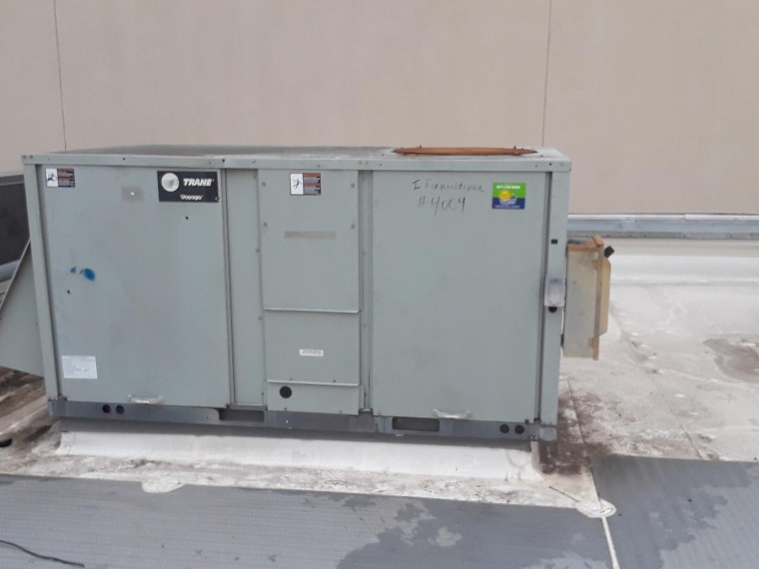 Hurst, TX - Air Conditioner repair on a Trane.