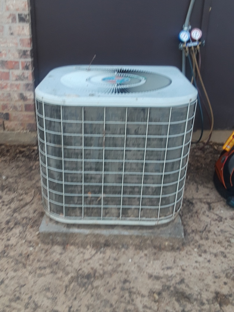 Bedford, TX -  Air Conditioner was not cooling, on  International Comfort Products system