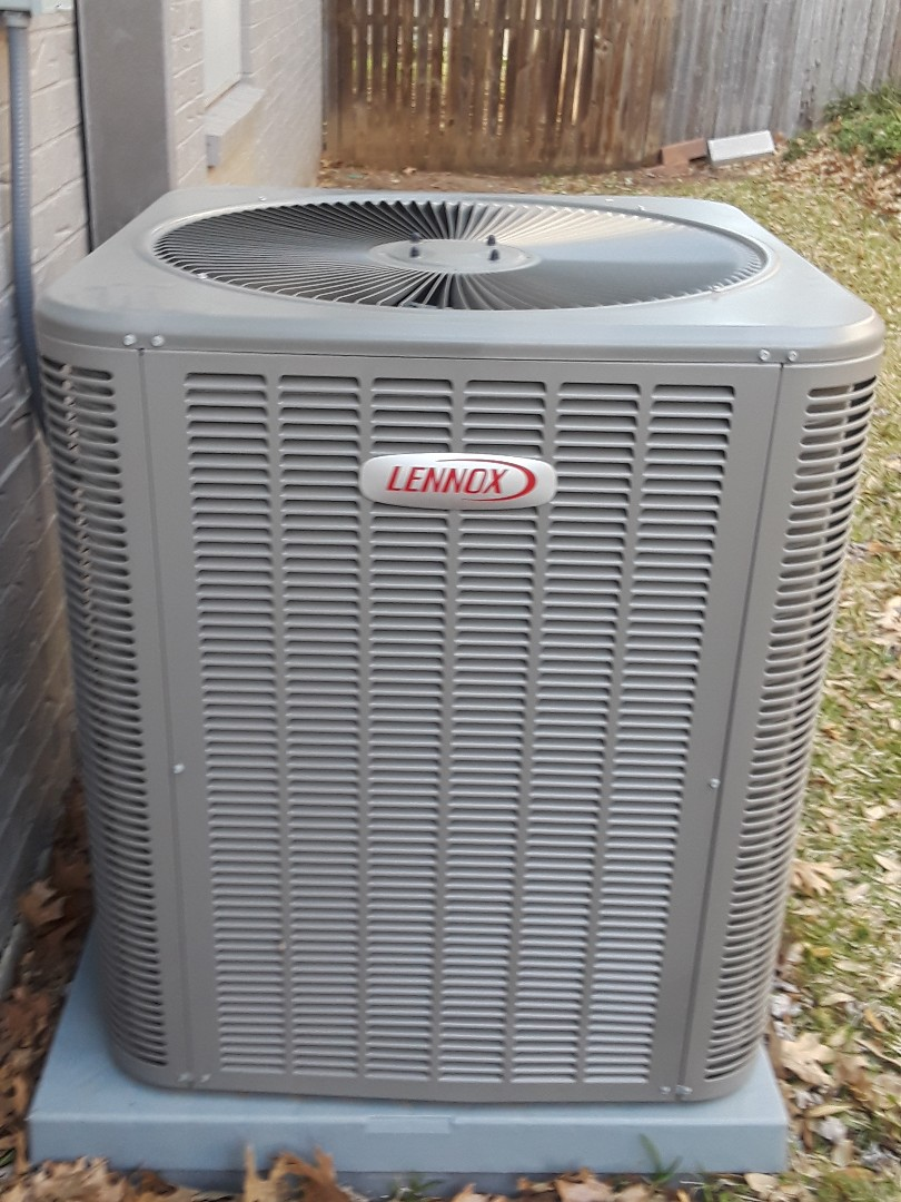 Hurst, TX - Performing one system maintenance on Lennox