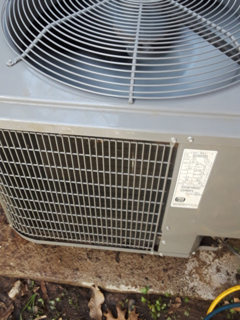 Euless, TX - Performing 1 system AC Maintenance on an International Comfort Products condenser.