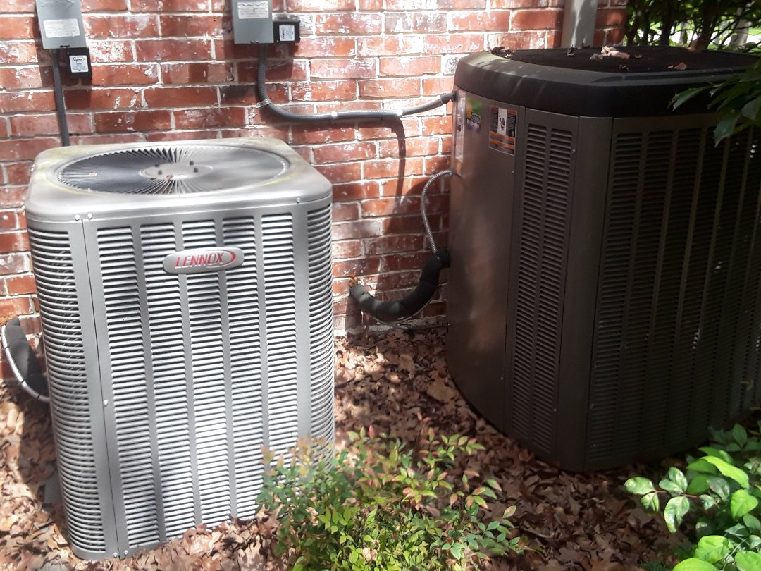Southlake, TX - AC maintenance on 2 Lennox systems