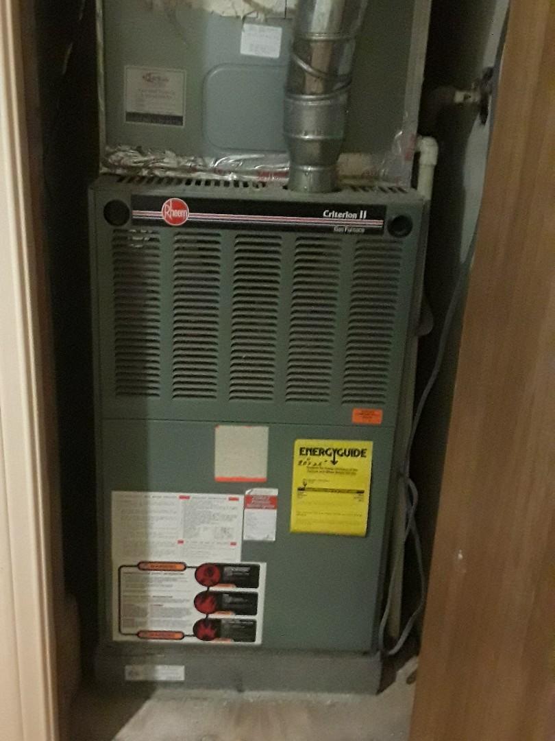 Bedford, TX - AC maintenance on Rheem system