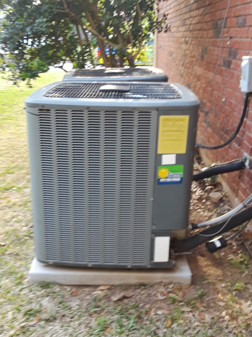 Hurst, TX - AC maintenance on two Amana systems