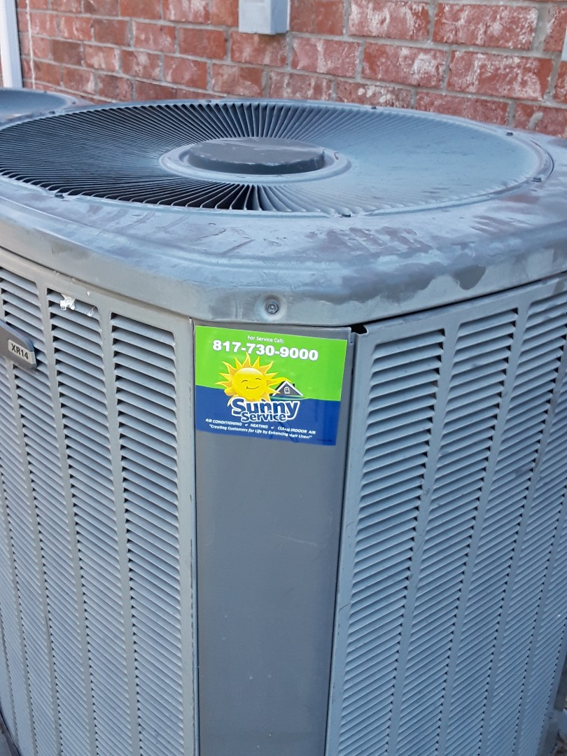 Colleyville, TX - A.c. tune up on Trane
