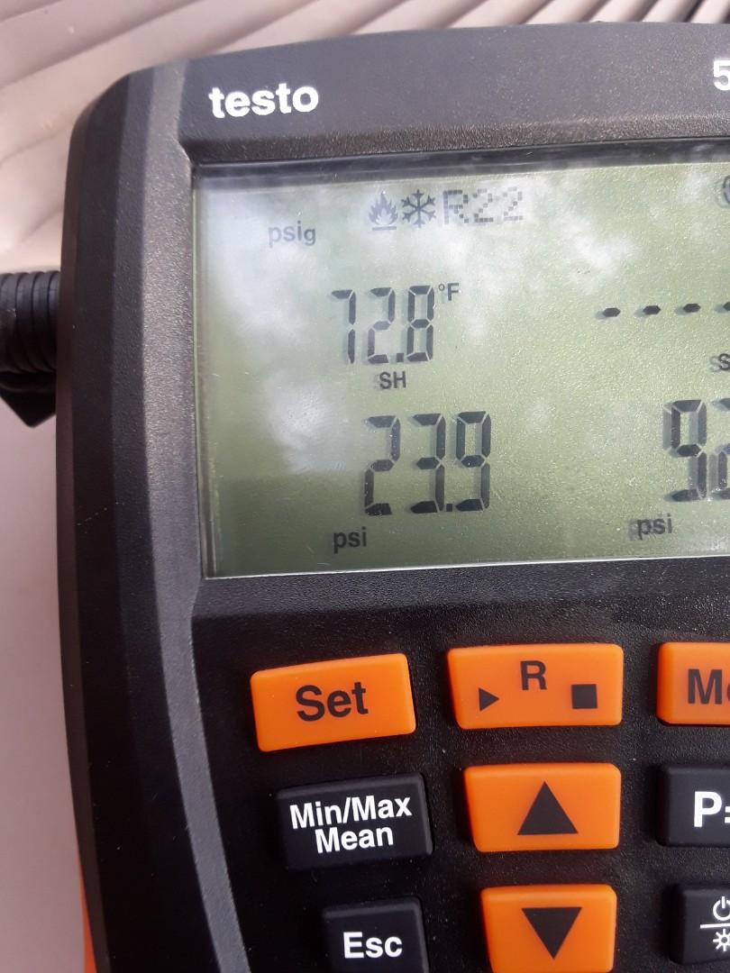 Bedford, TX - Air conditioning repair on a Trane.