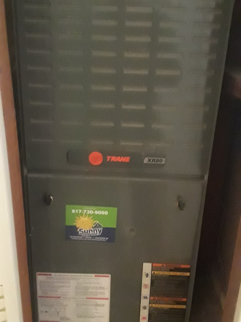 Arlington, TX - Air Conditioning tune up on Trane system