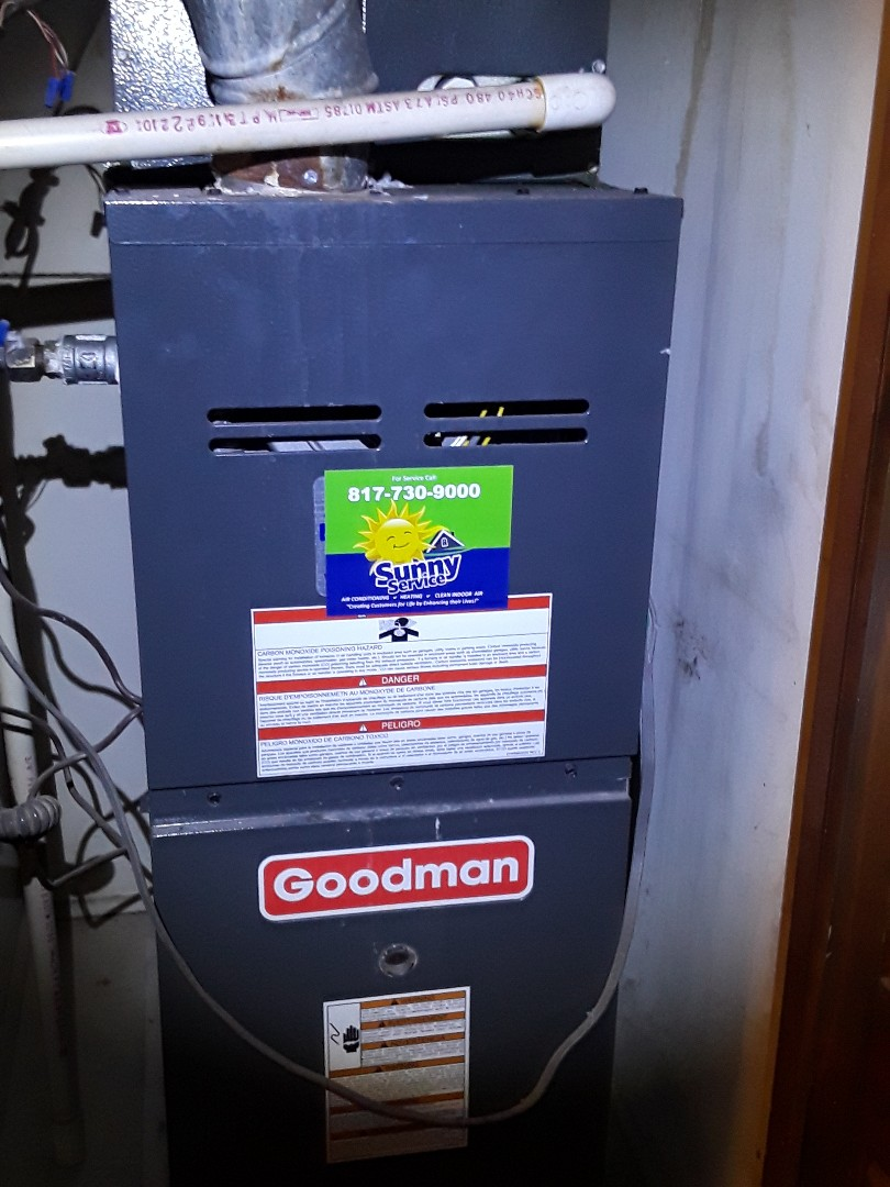 Bedford, TX - AC tune up on Goodman system