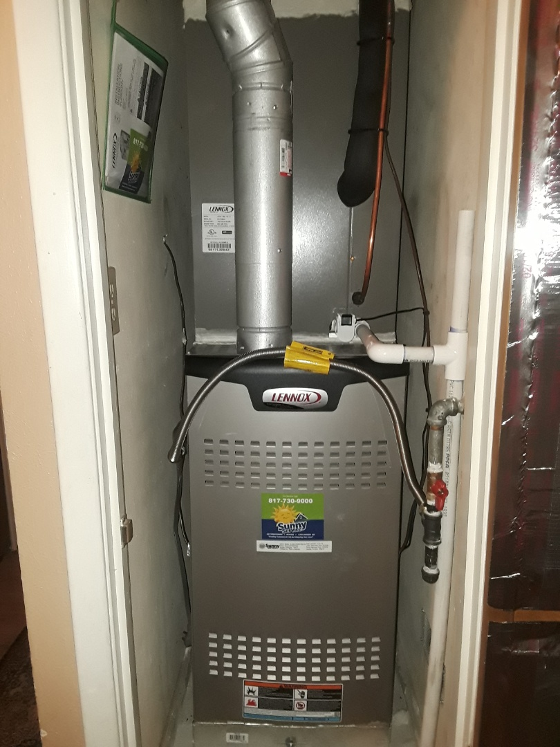 Bedford, TX - Complete system replacement with a Lennox..
