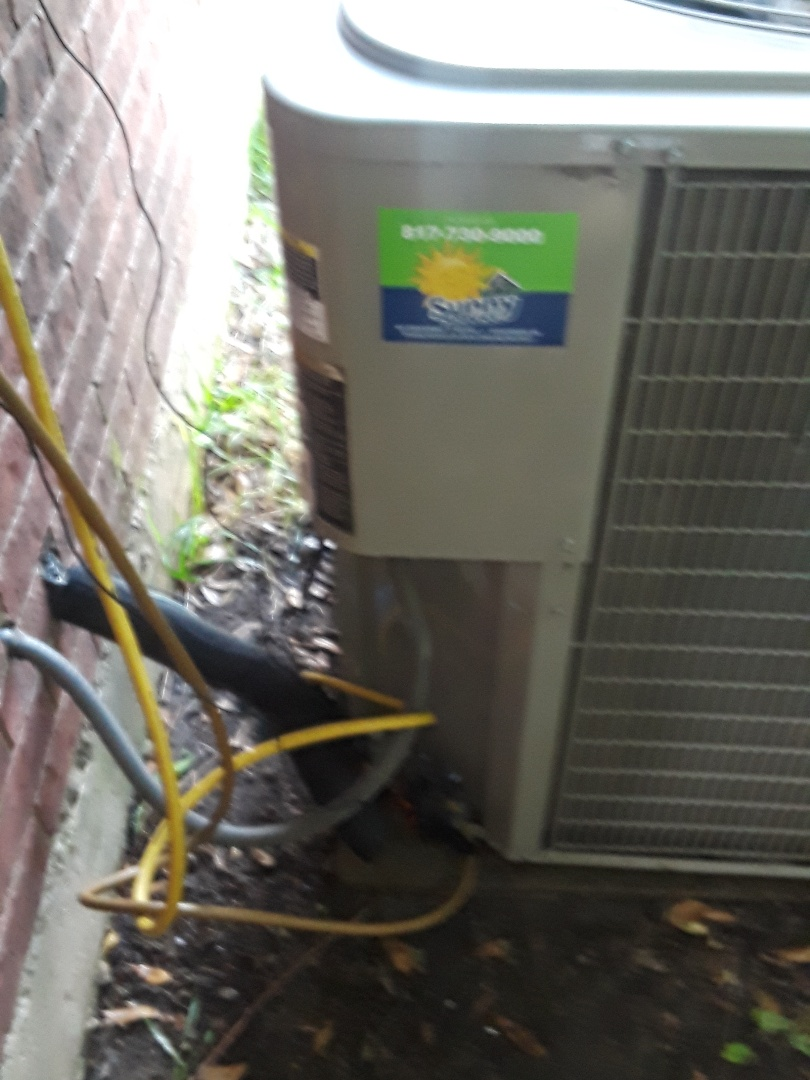 Keller, TX - Air conditioner repair