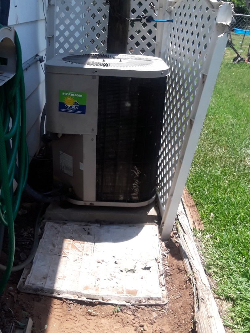 Euless, TX - No cooling call