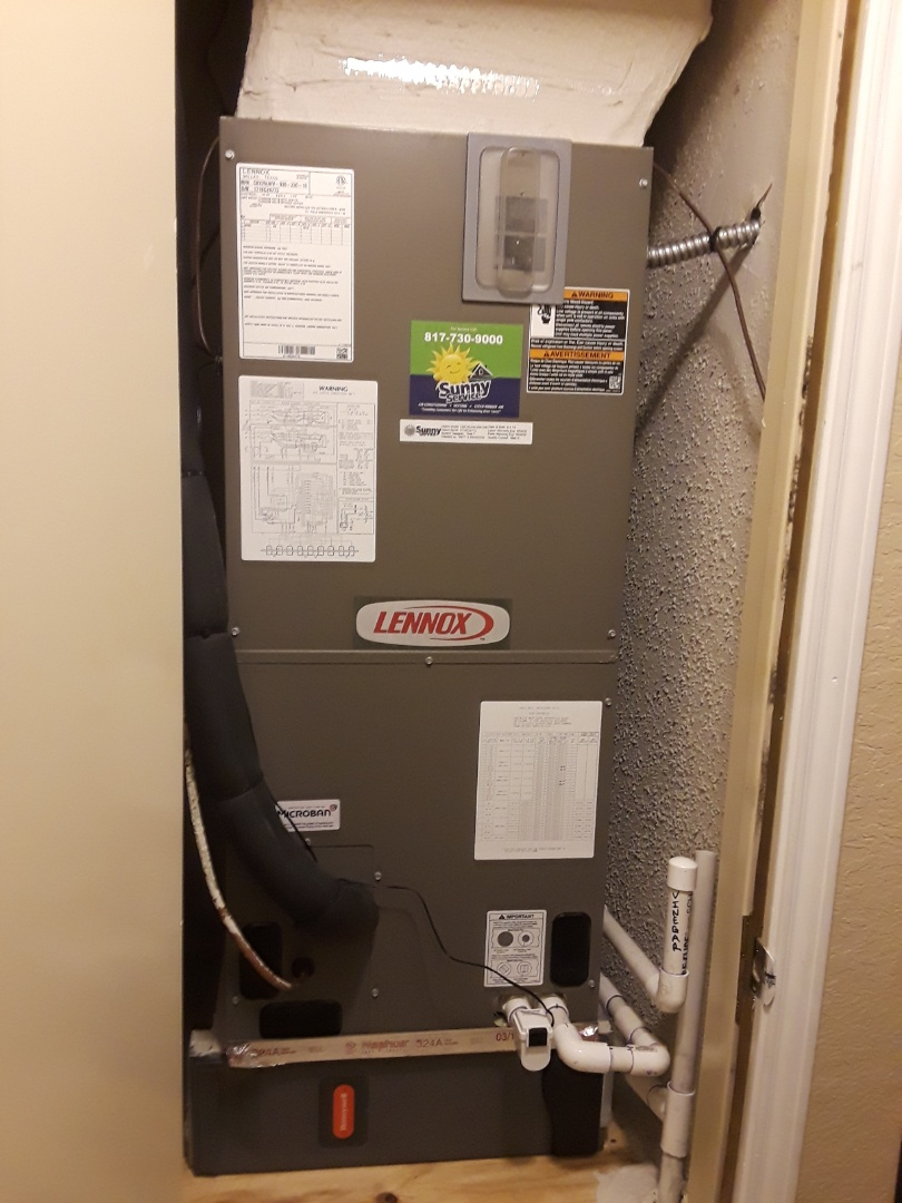 Grand Prairie, TX - Complete system replacement with a Lennox..
