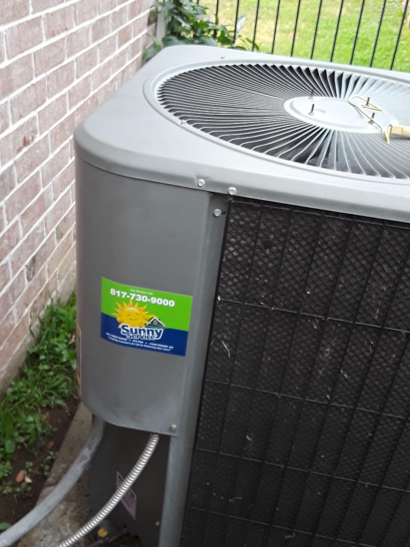 Hurst, TX - Air conditioner repair
