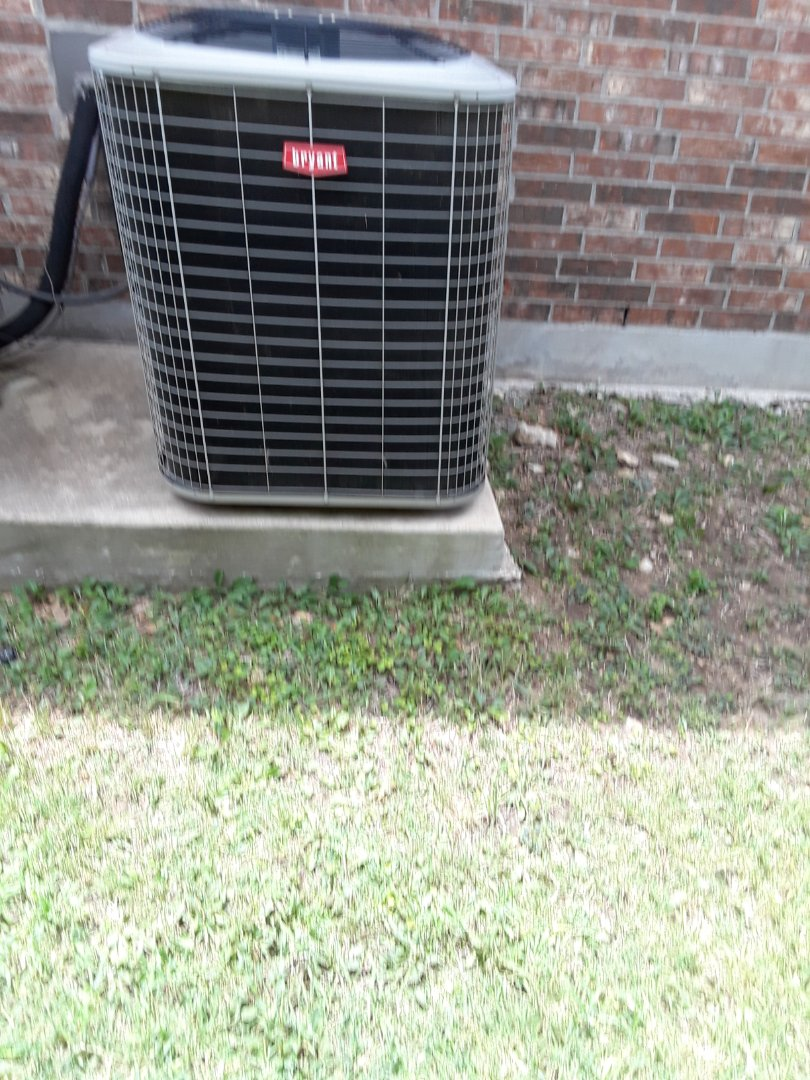 Colleyville, TX - No cool service call for bryant system