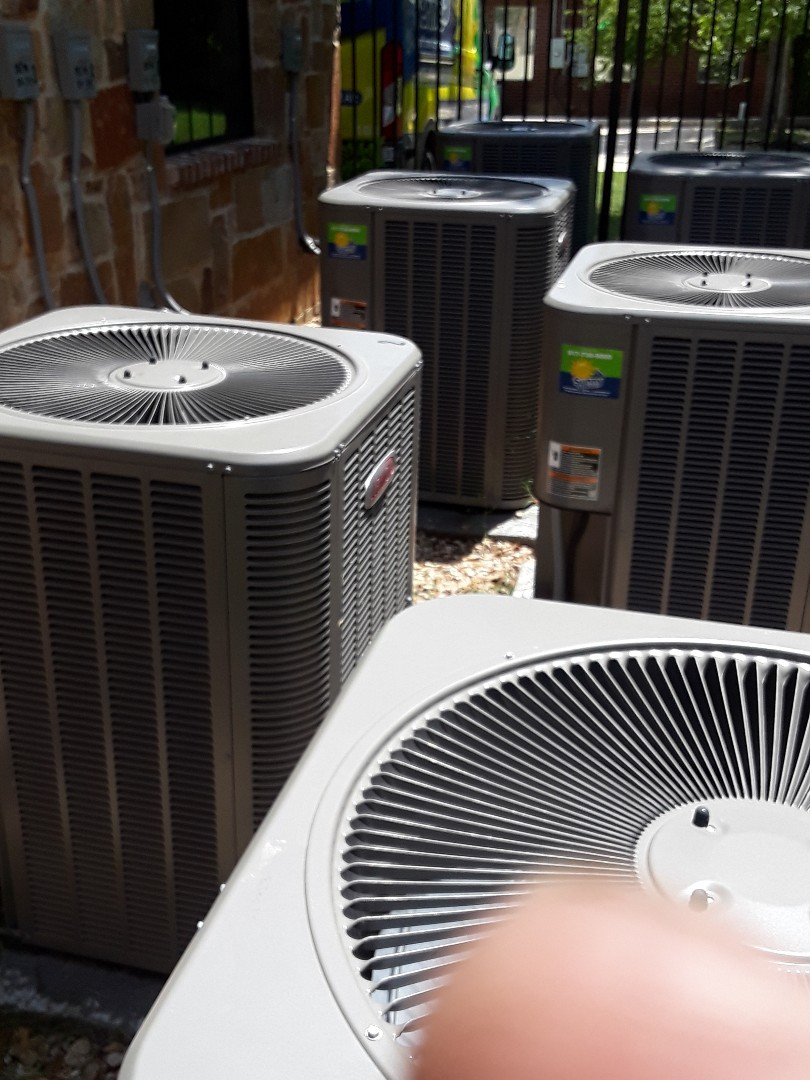 Southlake, TX - 6 unit Air conditioner maintenance .