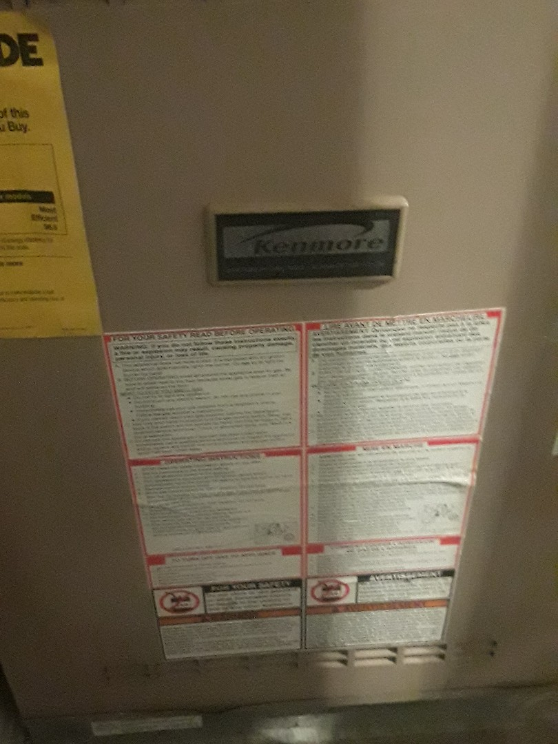 Fort Worth, TX - Air Conditioning repair on Kenmore.