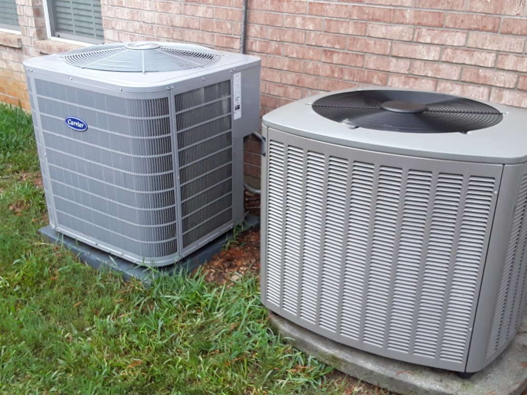 Keller, TX - Air conditioning maintenance on lennox and carrier systems.