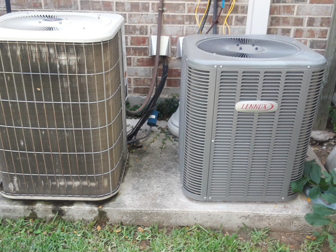 Grapevine, TX - Lennox Air conditioner is not blowing cold air