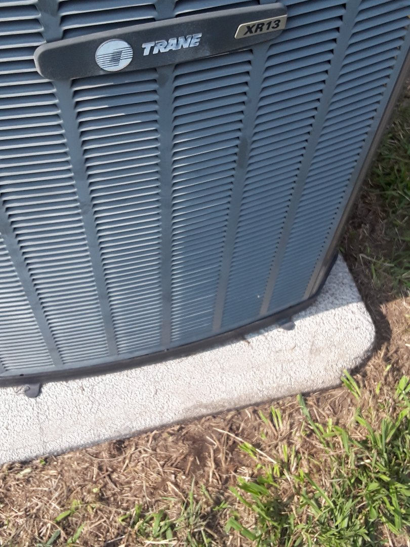 Bedford, TX - Replace the Condensing Fan Motor on a Trane.