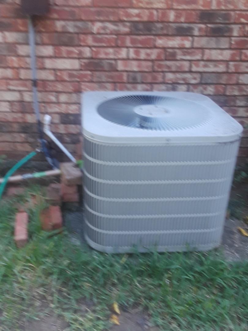 North Richland Hills, TX - Indoor fan motor will not shut off