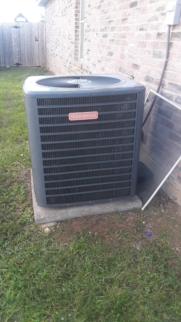 Saginaw, TX - System not cooling on a Goodman