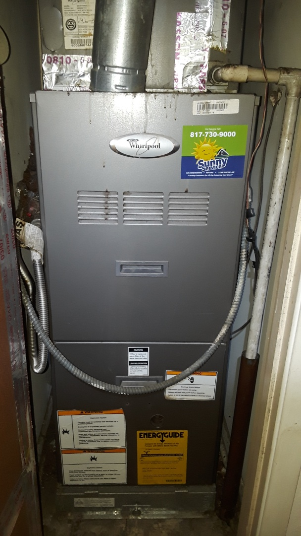 Fort Worth, TX - Heat tune up on a Whirlpool.