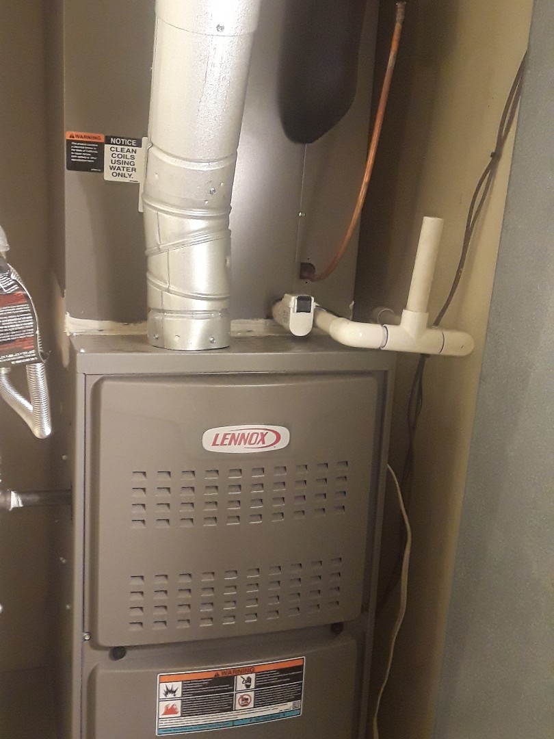 Fort Worth, TX - Heat check up on a Lennox.