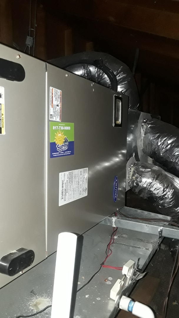 Euless, TX - Carrier Heat Pump Complete AC/Heating tune up