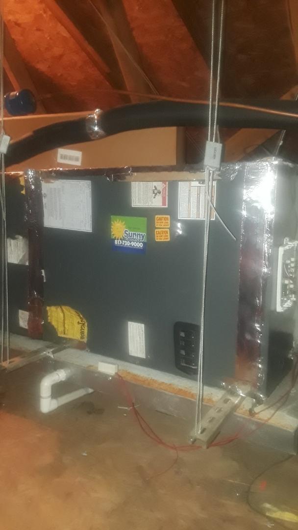 Hurst, TX - 2 Amana Heat Pump system tune ups