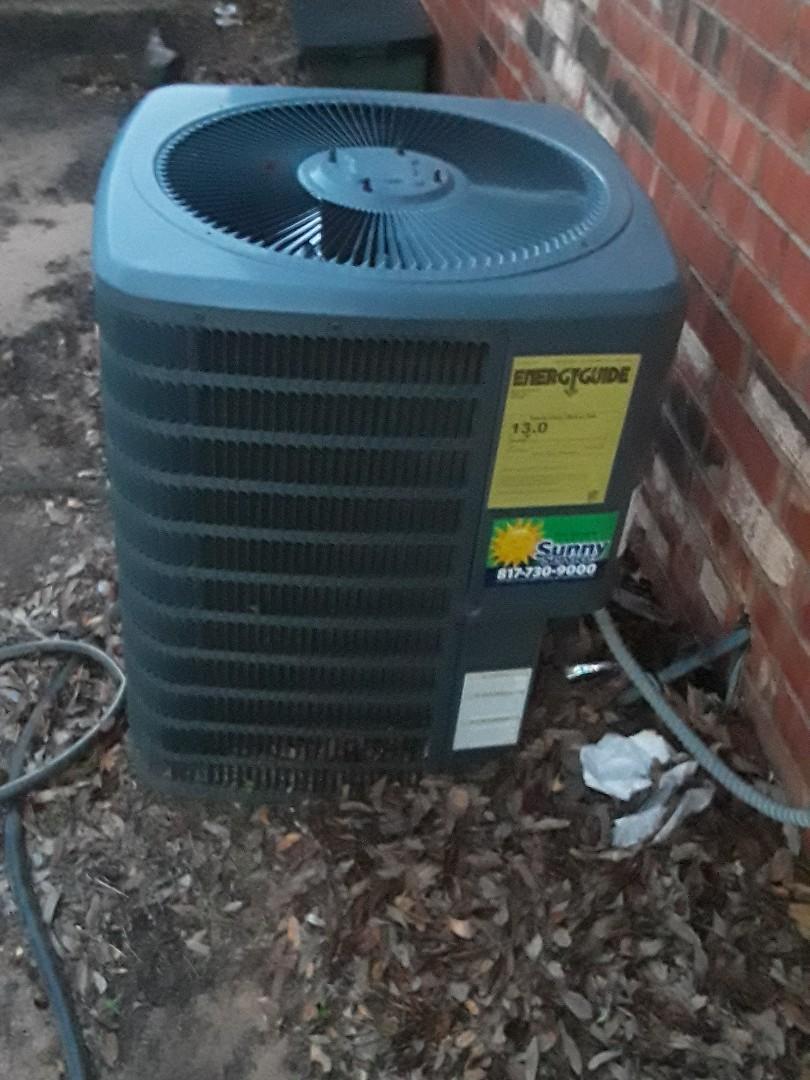 Fort Worth, TX - Goodman Electric Heat Air Handler not working service call