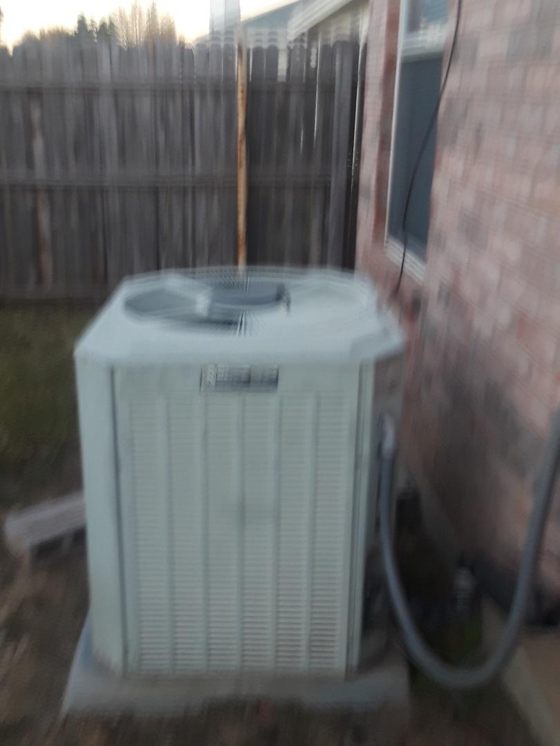 Fort Worth, TX - No heat service call