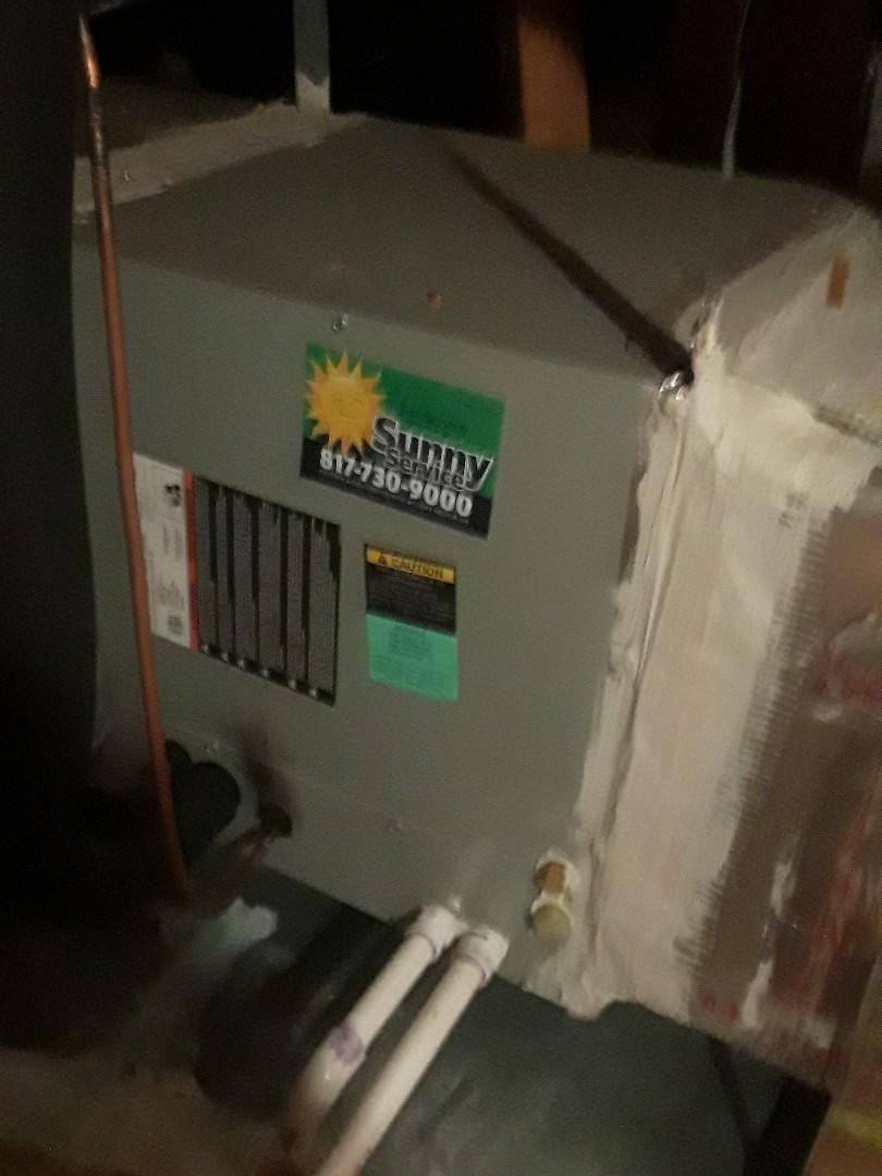 Keller, TX - No heat service call