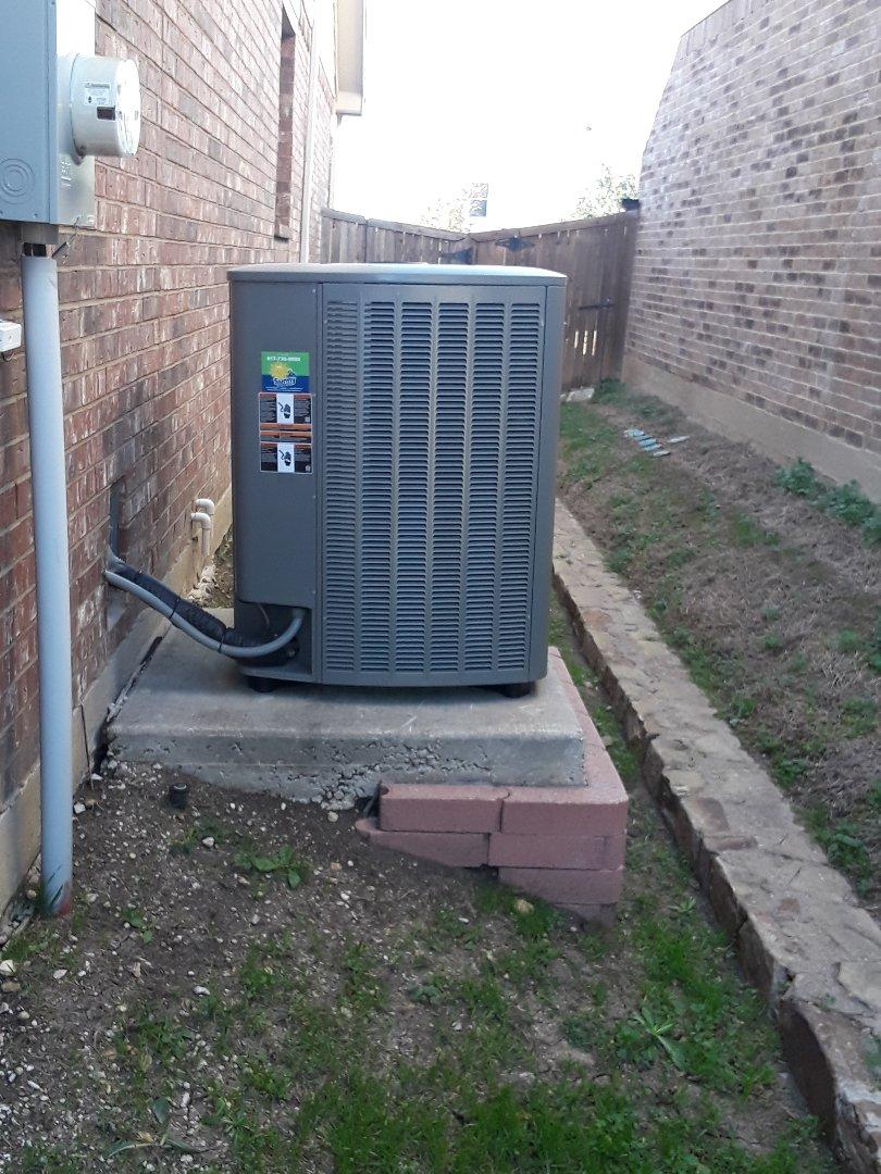 Fort Worth, TX - Heat tune up