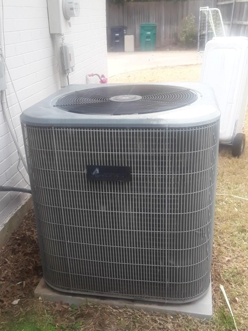 Fort Worth, TX - Heat maintenance on an Amana