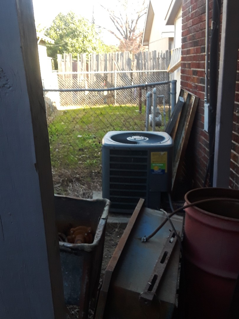 Fort Worth, TX - Heat check on a Nordyne Gas Furnace