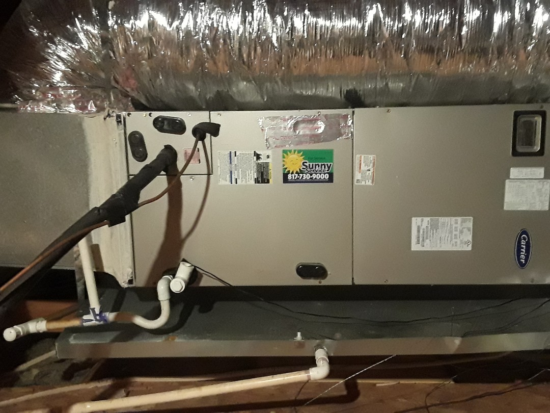 Fort Worth, TX - Carrier Air Handler Heat Tune Up