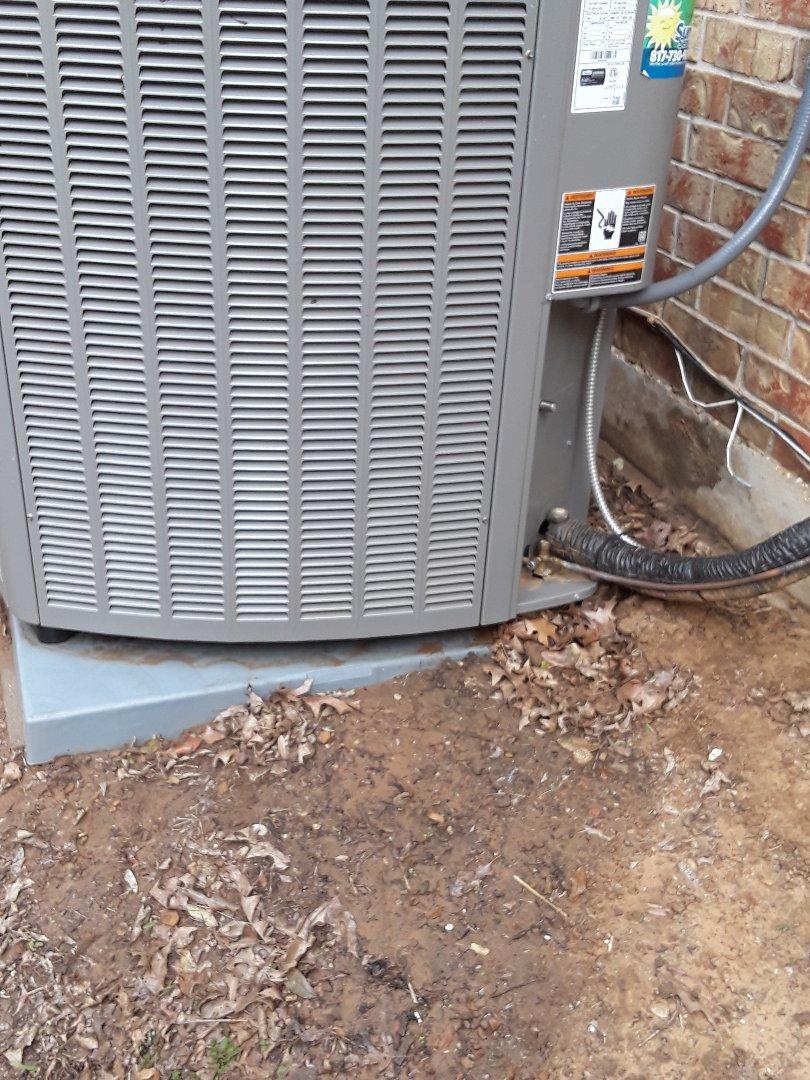 Grapevine, TX - Heat Tune Up on a Lennox Heat Pump