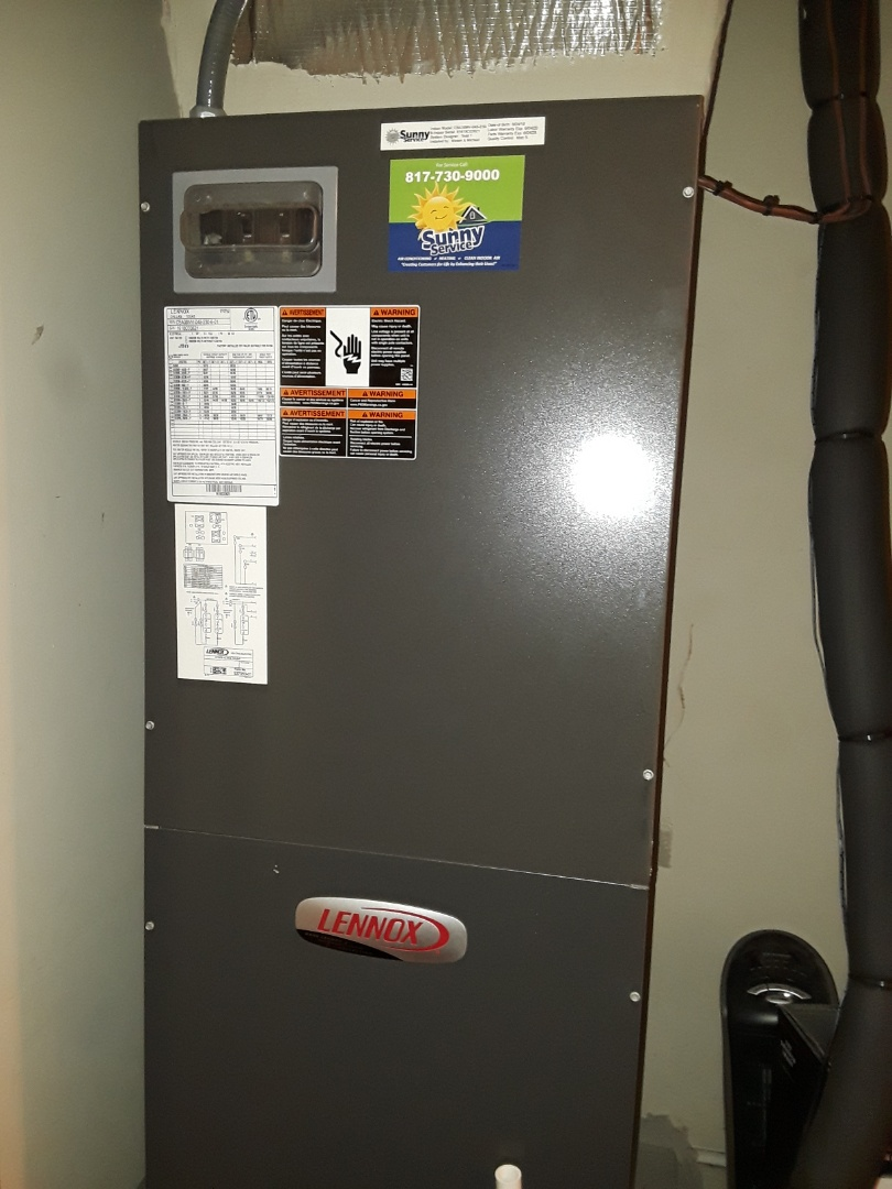 Fort Worth, TX - Heater maintenance call for Lennox Heat Pump system