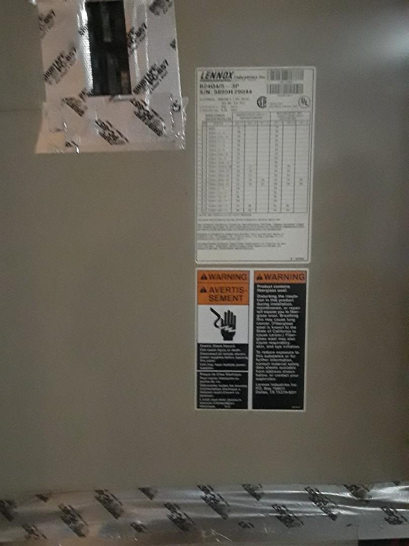 Grapevine, TX - No heat service call on a Lennox Furnace