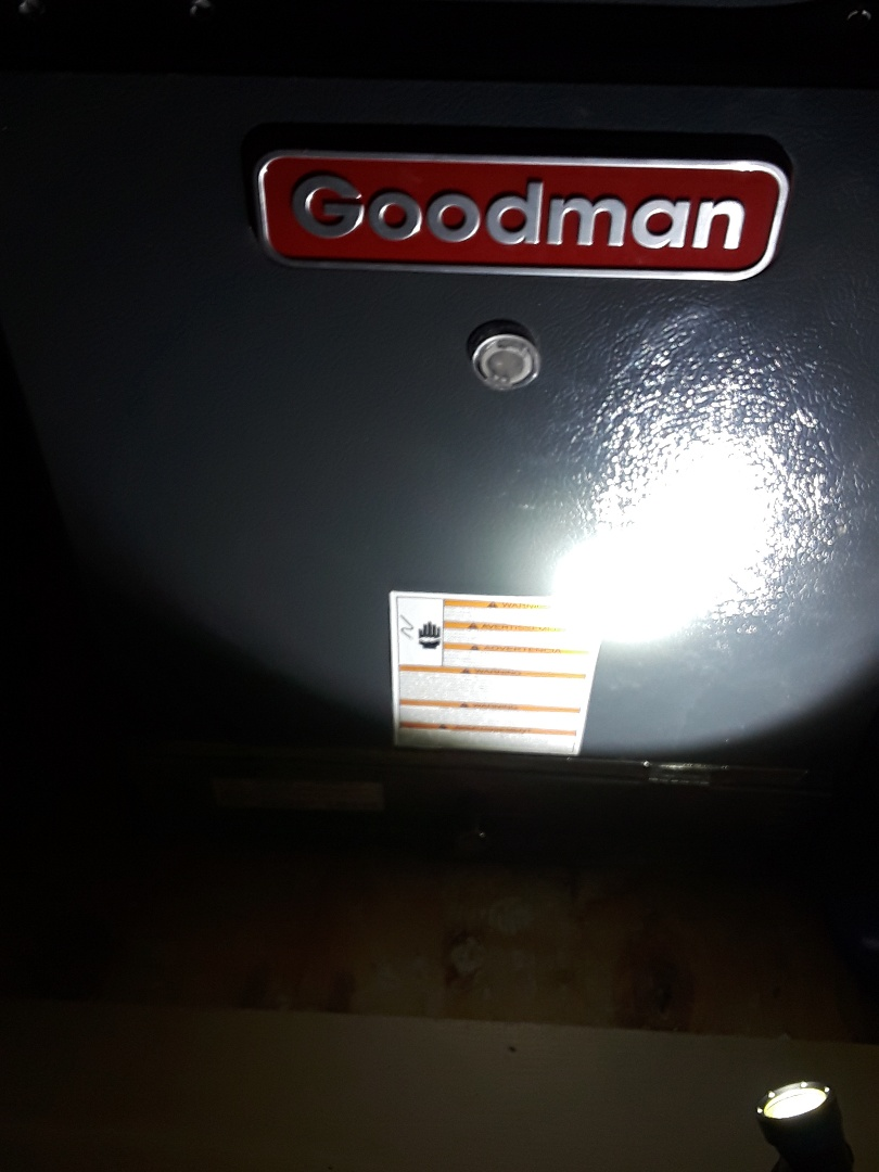 Bedford, TX - No heat service call on a Goodman Furnace.