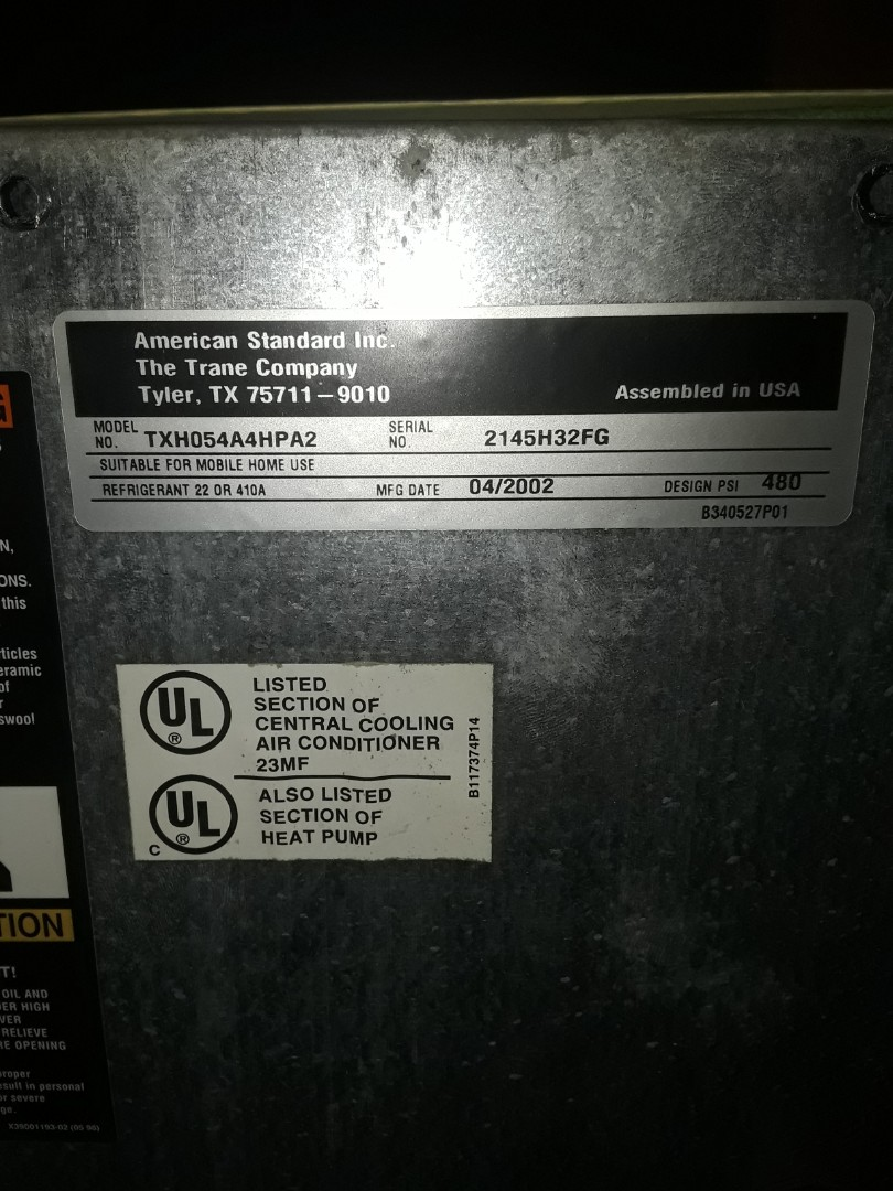 Grapevine, TX - Complete inspection on a Trane System