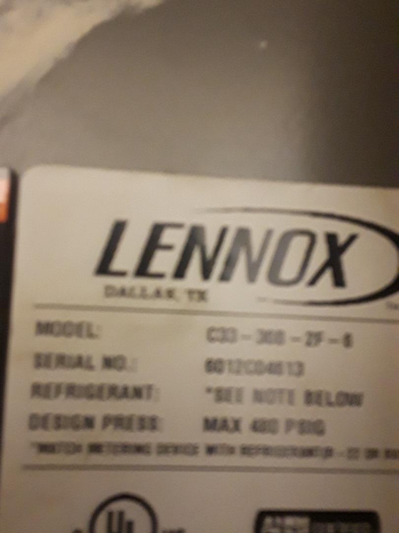 Grapevine, TX - No heat service call on a Lennox Furnace.